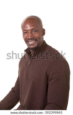 Portrait of an older man - stock photo