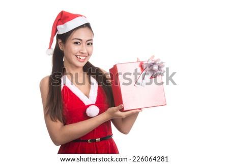 Stock Photo: Beautiful winter woman on white background.</p> <p></p> <p>Stock Photo: Beautiful Winter Woman On White Background. Portrait Of Asian >> <a href=