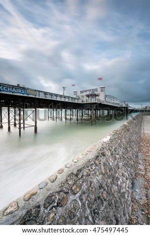 Portrait of Brighton Pier