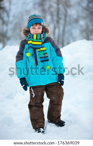 boy winter