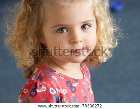 Portrait of pretty girl - stock photo