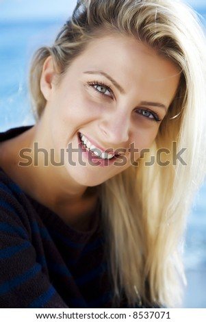 portrait of pretty young woman in her 20s