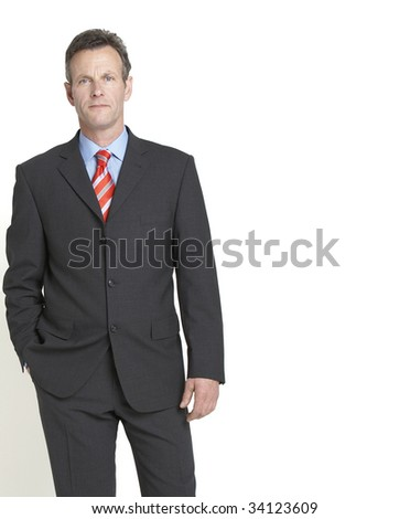 portrait of senior businessman