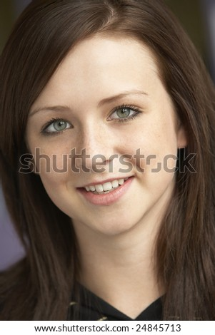 Portrait Of Teenage Girl