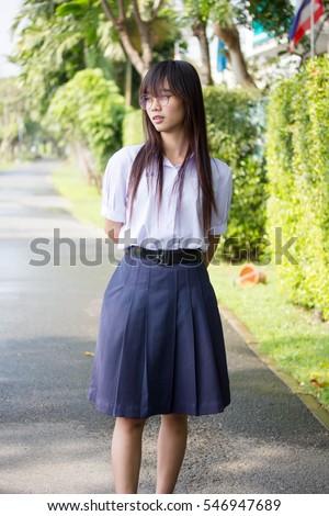 thai girl school school teen