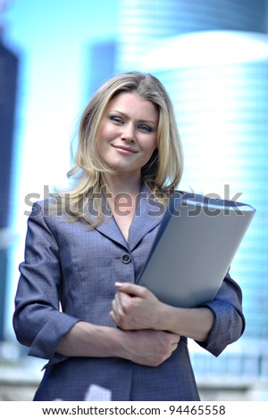 Portrait of the business woman