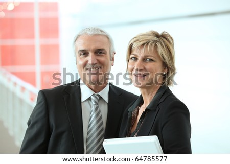 Portrait of two teachers