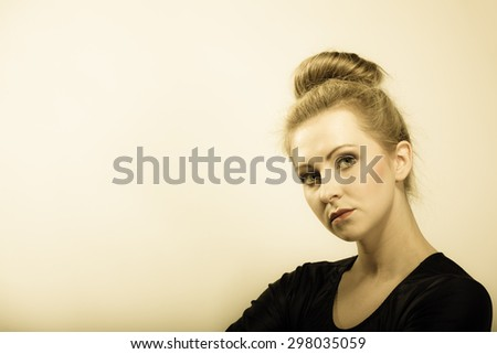 Ballerina Bun Stock Images Royalty Free Images Amp Vectors