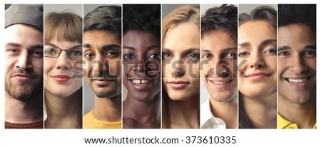Portraits - stock photo