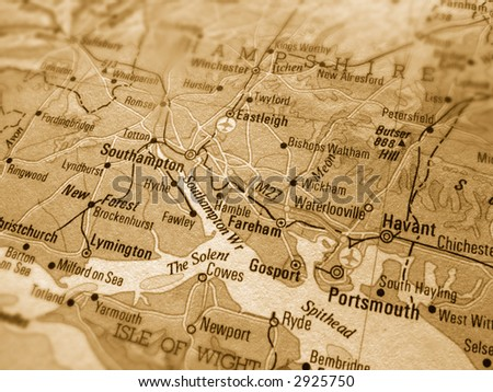 portsmouth - stock photo