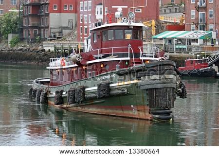 Portsmouth Tug - stock photo