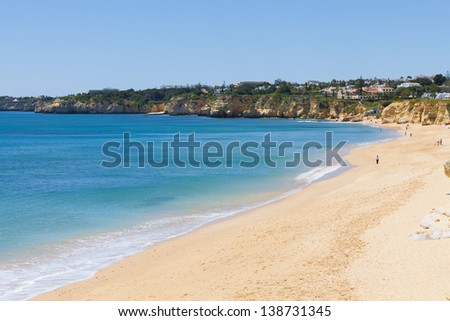 Portugal - Algarve - Armacao de Pera - stock photo