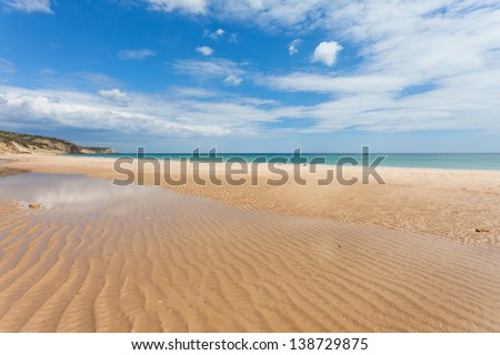 Portugal - Algarve - Salema - stock photo