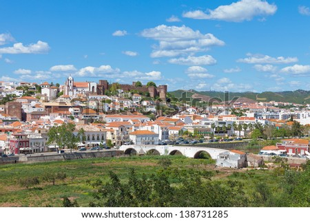 Portugal - Algarve - Silves - stock photo