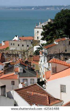 Portugal, district of Alfama in Lisbon