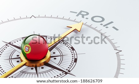 Portugal High Resolution ROI Concept - stock photo
