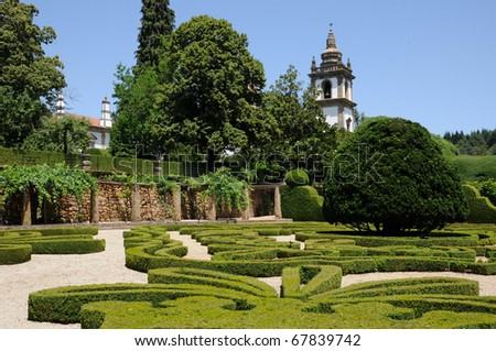 Portugal, Mateus palace in Vila Real