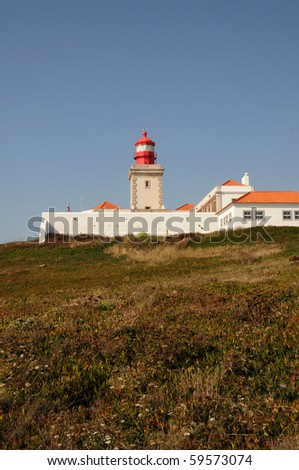 Portugal, Sintra, lighthouse of Cabo Da Roca,