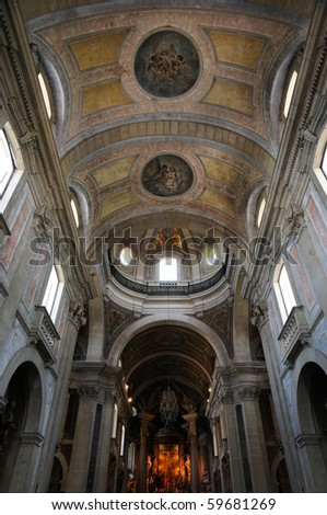 Portugal, the baroque church of Bom Jesus in Braga