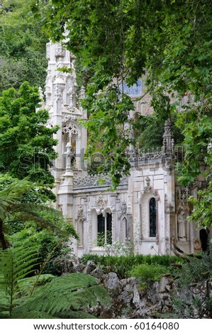 Portugal, the Regaleira palace in Sintra