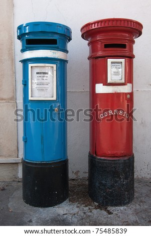 Portuguese postboxes