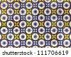 Portuguese Tiles - stock photo