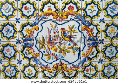 Azulejo stock images royalty free images vectors for Azulejos mexico