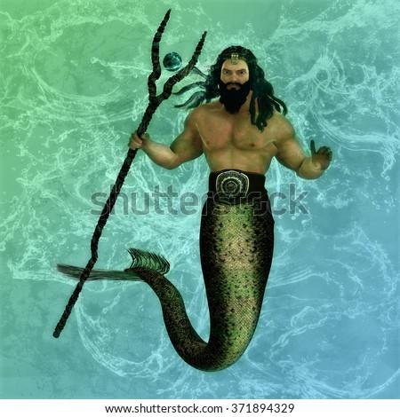 Poseidon Trident Stock Photos Royalty Free Images