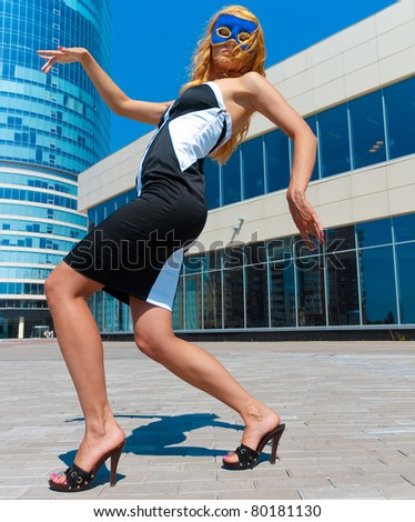 Posing Business Female