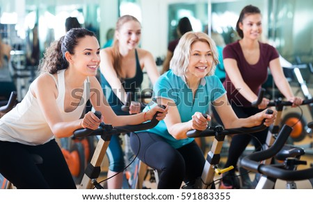 Satisfied Older People Do Sports On Stock Photo 536240311