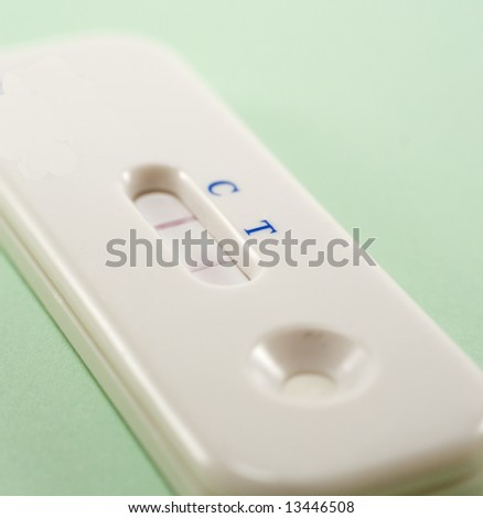 Positive Pregnancy Test - stock photo