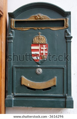post-box - stock photo
