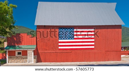 Post office building in an old American town. - stock photo