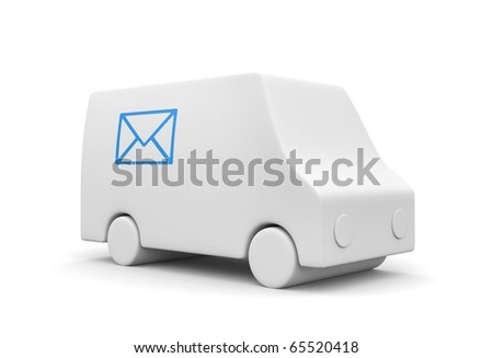 Postal service - stock photo