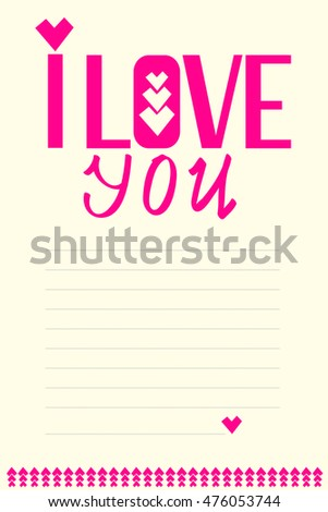 Postcard writing love letters greetings valentines stock postcard for writing love letters greetings with valentines day m4hsunfo Images