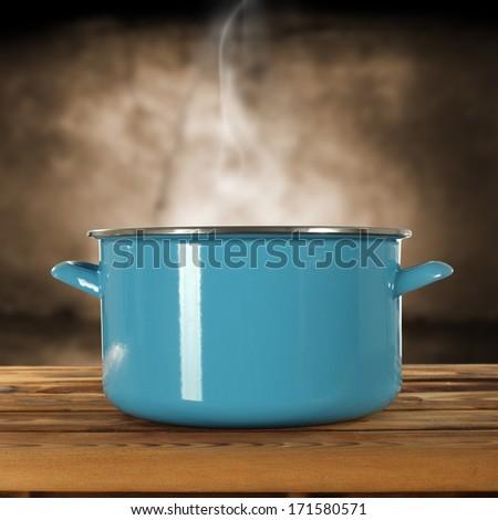 pot  - stock photo