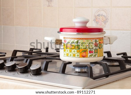 Pot. - stock photo