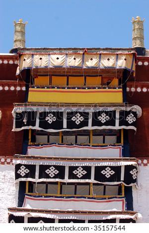 Potala Palace, Tibet Landmark - stock photo