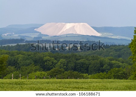 Potash Heap - stock photo