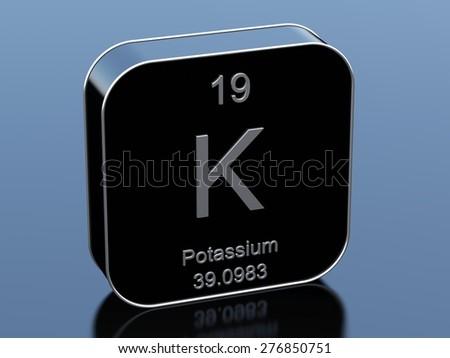 Potassium - stock photo