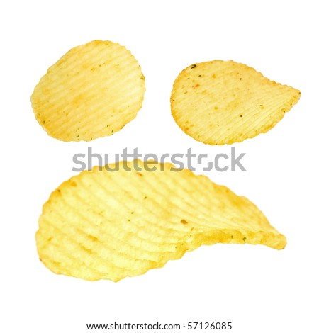 Potato chip - stock photo