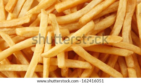 potato chips - stock photo