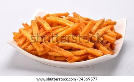 Potato Fries im-1 - stock photo