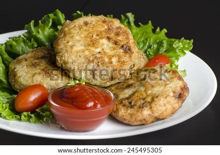 Potato Patties - stock photo