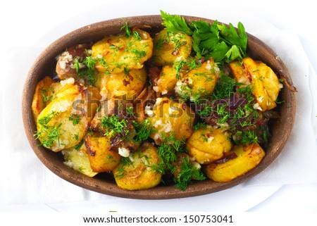 potato stew  - stock photo