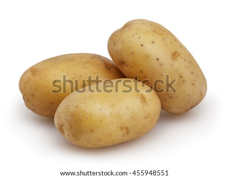 potatoes  - stock photo