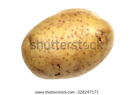 Potatoes it is isolated on a white background