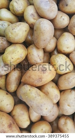 Potatos show as group.