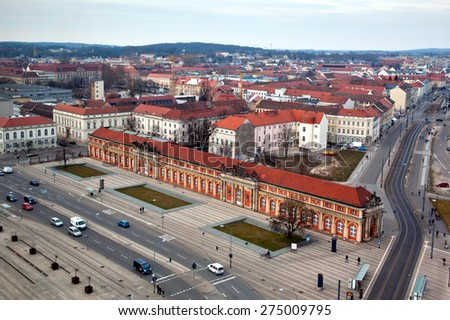 Potsdam cityscape at day, germany