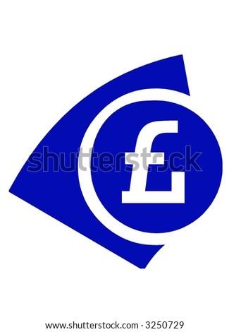 Pound sign - stock photo